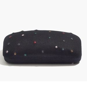 Madewell Embroidered Sunglass Case